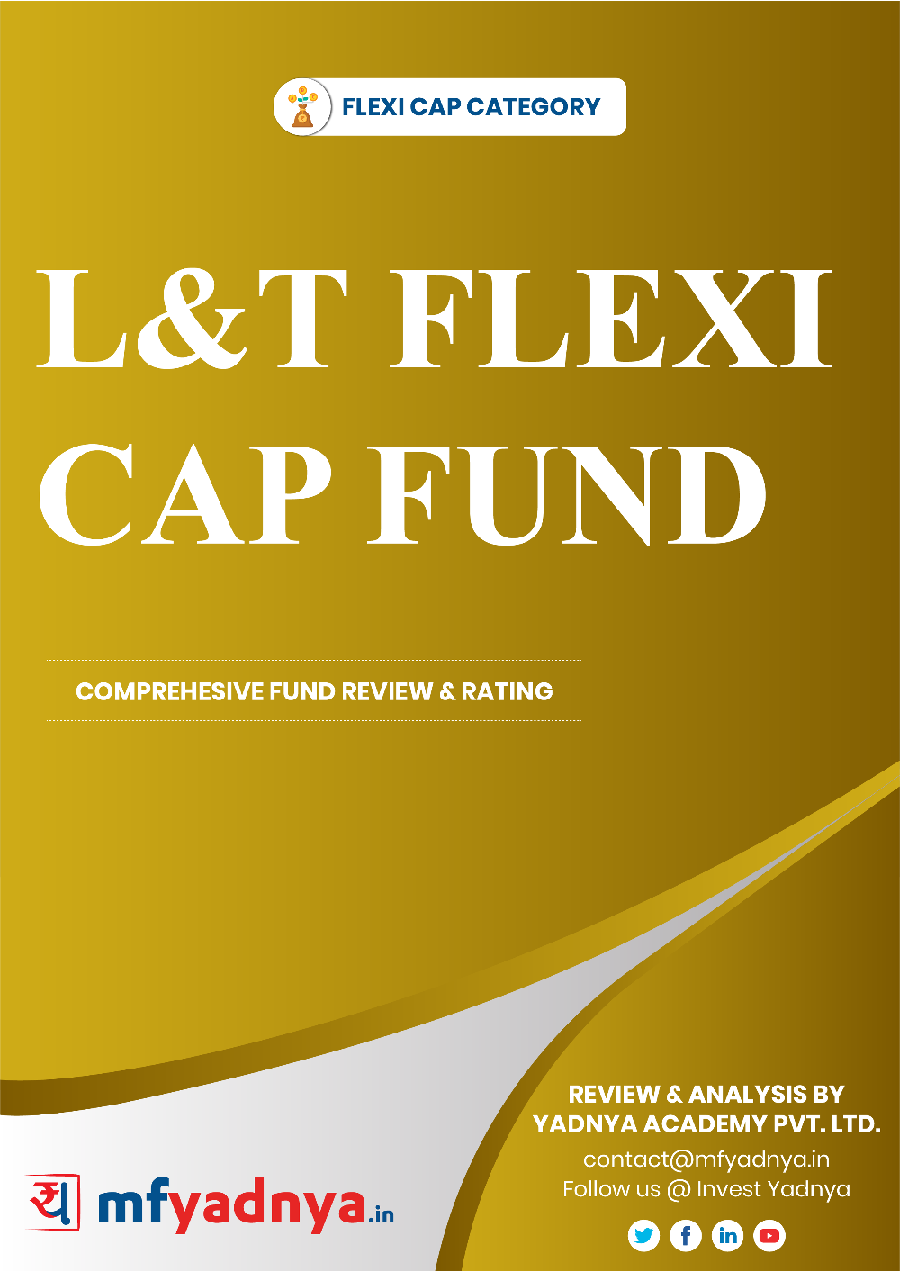 This e-book offers a comprehensive mutual fund review of L&T Equity Fund for multicap category. It reviews the fund's return, ratio, allocation etc. ✔ Detailed Mutual Fund Analysis ✔ Latest Research Reports