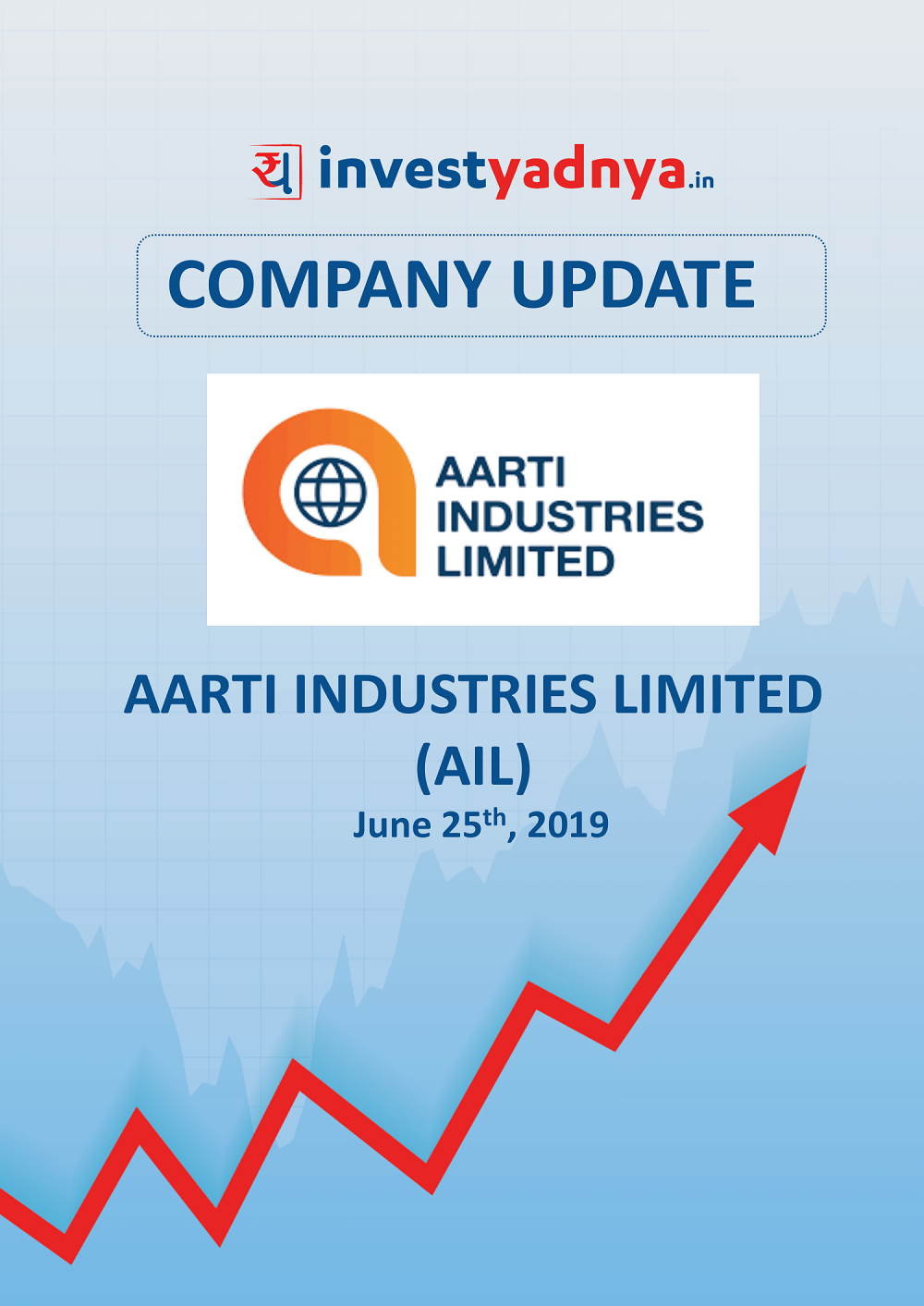Aarti Industries Ltd. is a Short and sweet analysis of the company which contains a brief overview of the company both from a qualitative and financial perspective. Date of update- 30th June 2019.