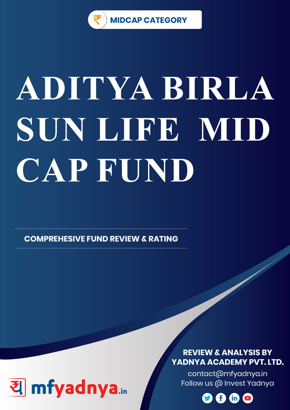 This e-book offers a comprehensive mutual fund review of ABSL Mid-Cap Fund. It reviews the fund's return, ratio, allocation etc. ✔ Detailed Mutual Fund Analysis ✔ Latest Research Reports