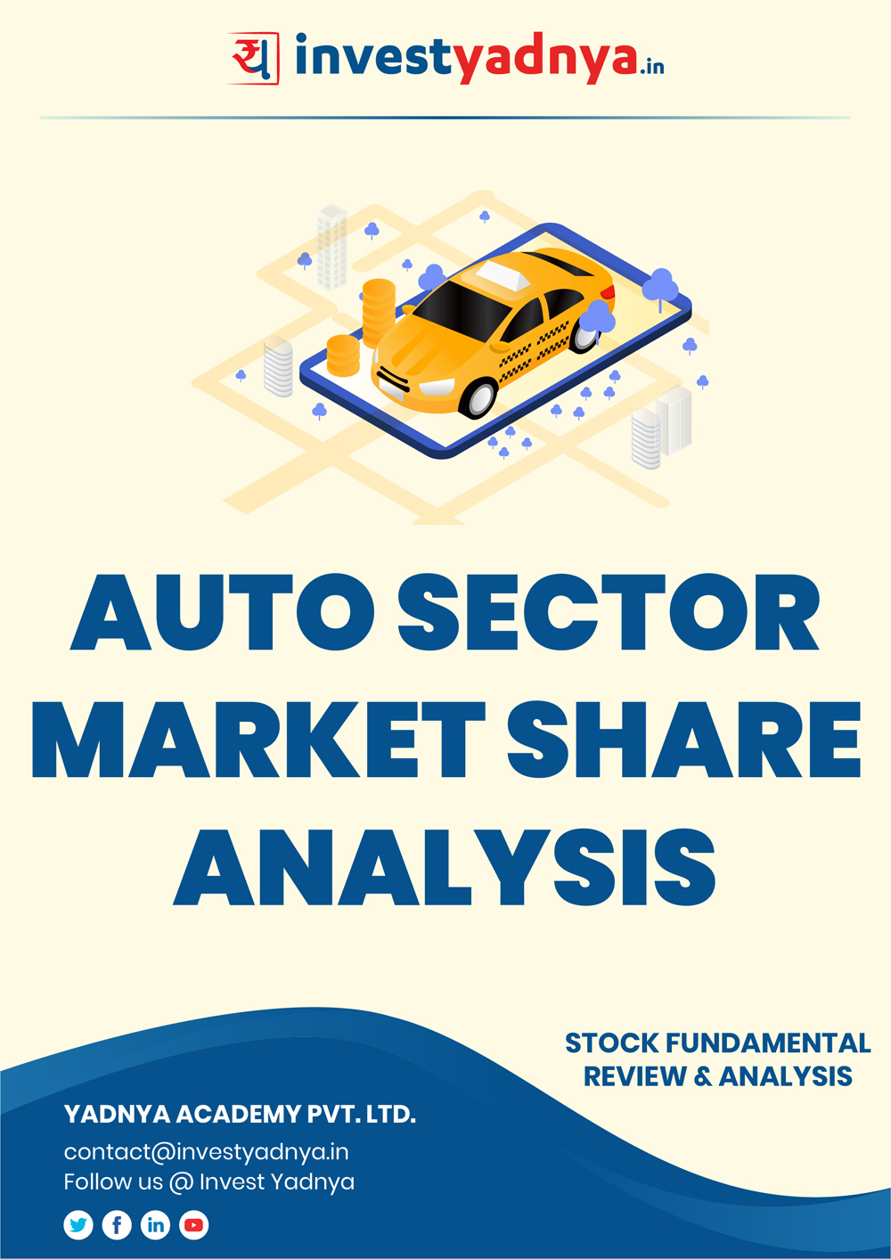 This e-book contains in-depth fundamental analysis of Auto Sector considering both Financial and Equity Research Parameters. It reviews the company, industry, competitors, shareholding pattern, financials, governance and annual performance. ✔ Detailed Research ✔ Quality Reports