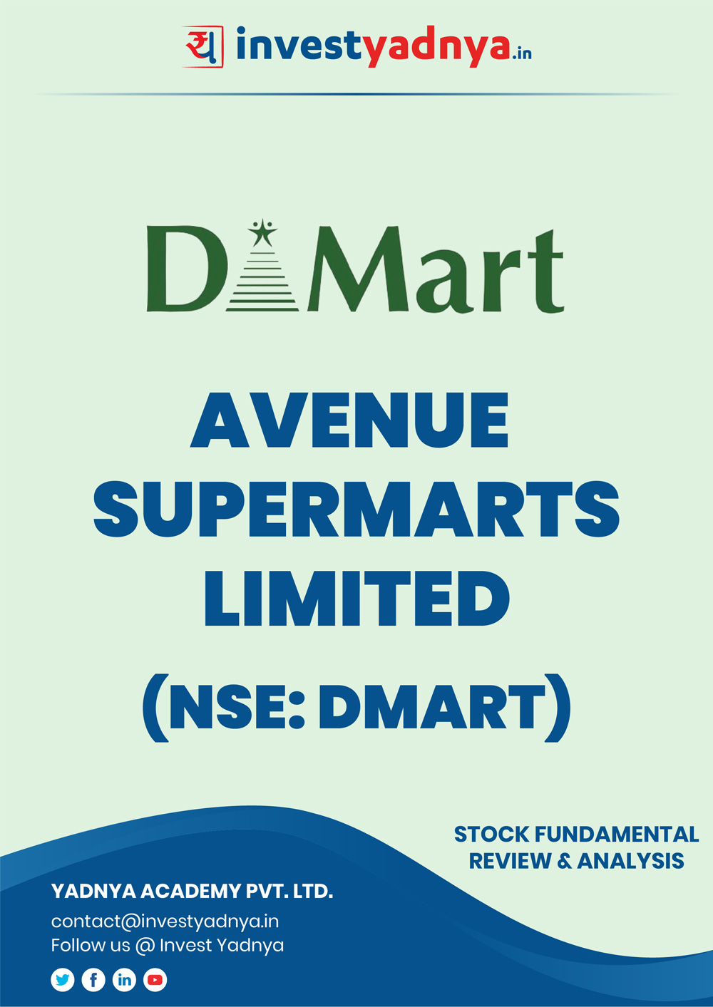 This e-book offers an in-depth Dmart stock analysis, considering both Financial and Equity Research Parameters. It reviews the company, industry, competitors, financials, etc. ✔ Detailed Stock Review ✔ Latest Research Reports