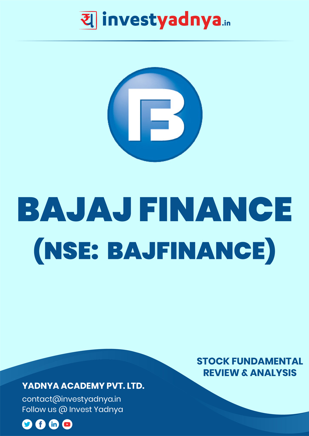 This e-book offers an in-depth stock review of Bajaj Finance Ltd, considering both Financial and Equity Research Parameters. It reviews the company, industry, competitors, financials, etc. ✔ Detailed Stock Analysis ✔ Latest Research Reports