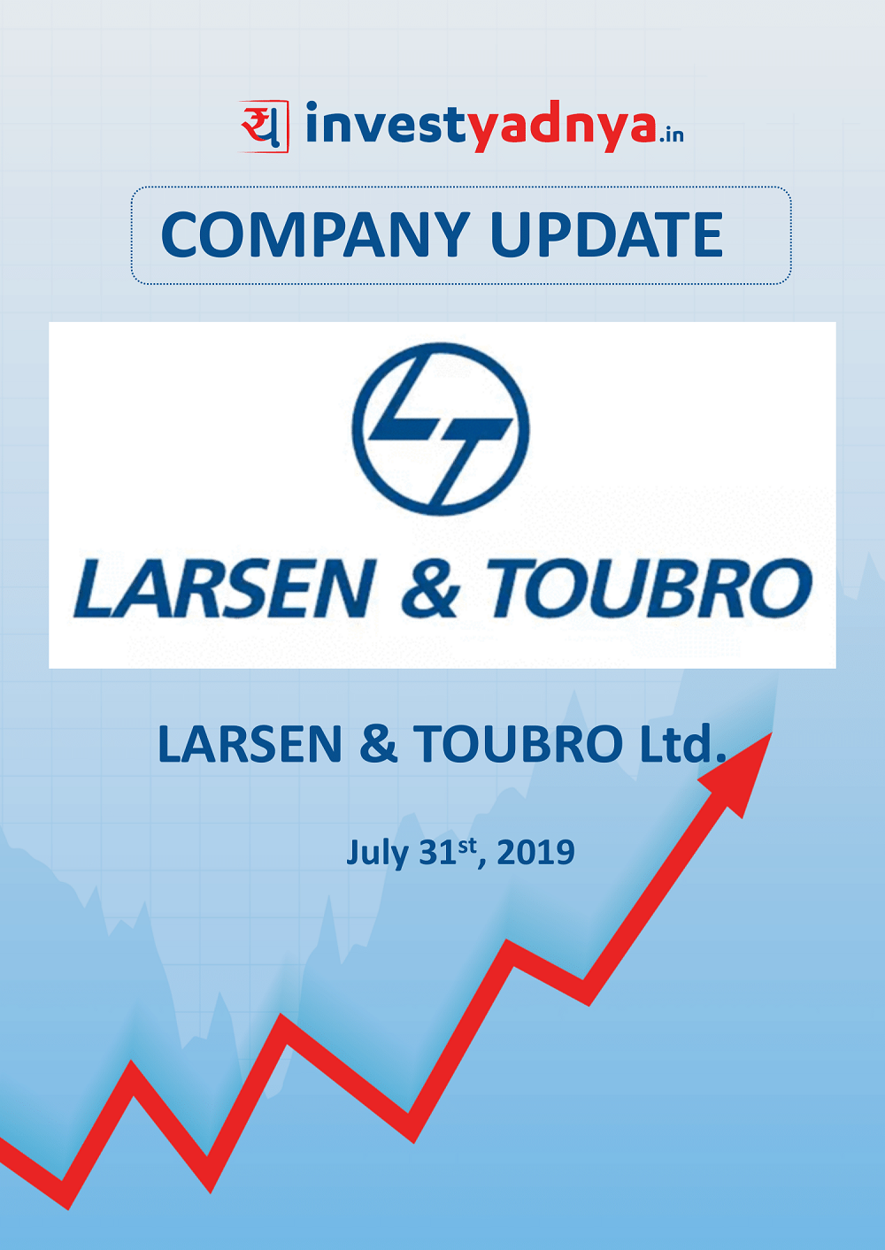 This e-book offers a detailed report on Larsen and Toubro Ltd. considering both qualitative and financial perspectives. It reviews the company's Q1 results. ✔ Detailed Research ✔ Quality Reports