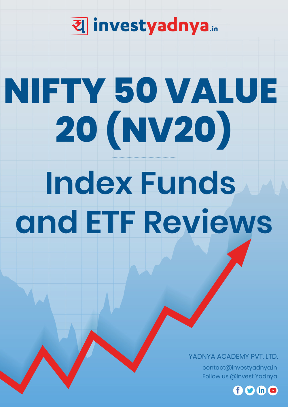 Index/ETF Category - NIFTY 50 Value 20 (NV20) Detailed Analysis & Review based on Mar 31st, 2019 data. Most Comprehensive, unique and detailed ETF/Index reviews based on Yadnya's proprietary methodology of Green, Yellow & Red Star.