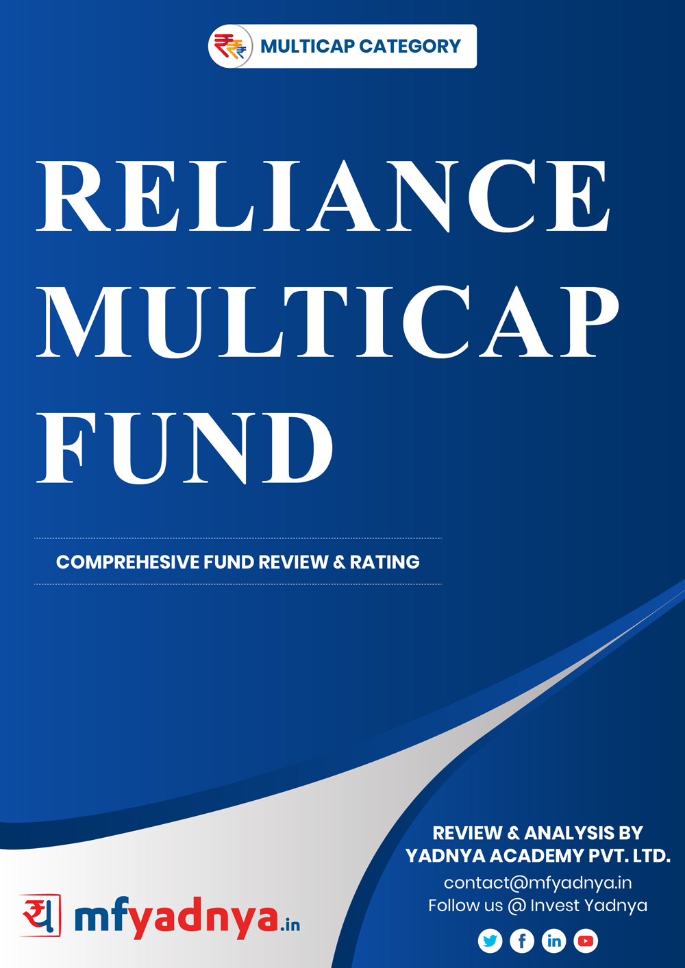 This e-book offers a comprehensive mutual fund review of Nippon India Multi cap Fund. It reviews the fund's return, ratio, allocation etc. ✔ Detailed Mutual Fund Analysis ✔ Latest Research Reports