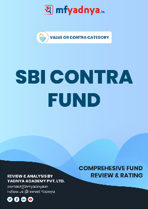 This e-book offers a comprehensive mutual fund review of SBI fund of contra category. It reviews SBI fund return, ratio, allocation etc. ✔ Detailed Mutual Fund Analysis ✔ Latest Research Reports