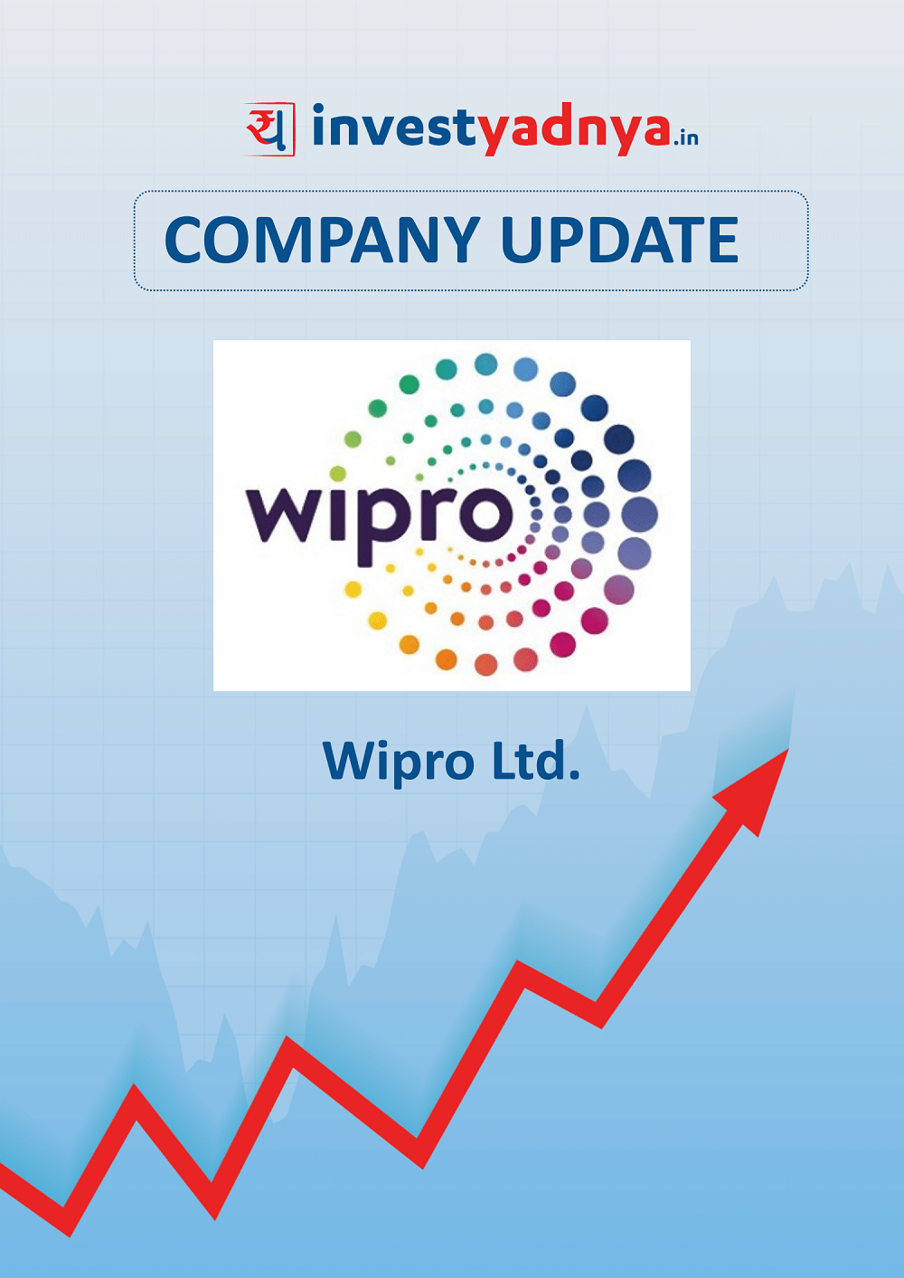 Wipro Ltd. is a Short and sweet analysis of the company which contains a brief overview of the company both from a qualitative and financial perspective. Date of update - 31st July 2019.