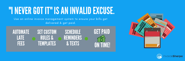 how account receivable software can help with late fees