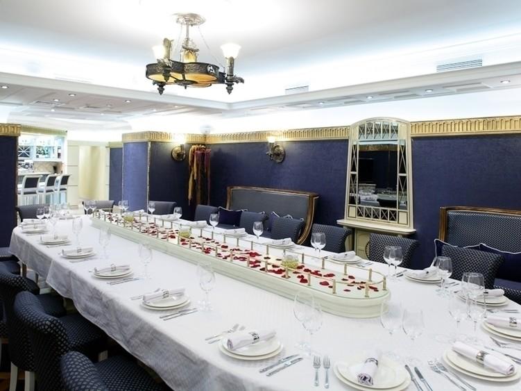 Ресторан на 30 персон в ЦАО, СВАО, м. Менделеевская, м. Новослободская, м. Достоевская от 2500 руб. на человека