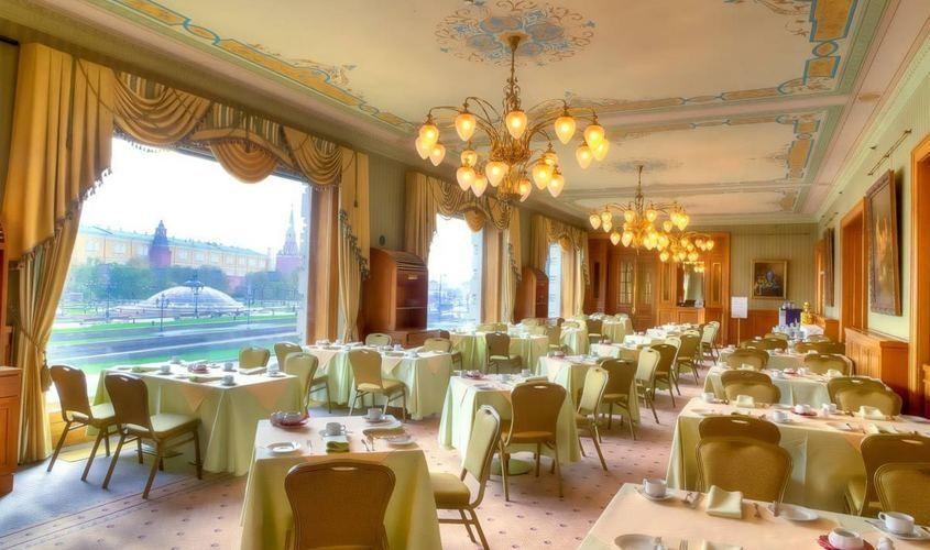 Ресторан, При гостинице на 80 персон в ЦАО, м. Охотный ряд, м. Театральная, м. Пл. Революции от 5000 руб. на человека