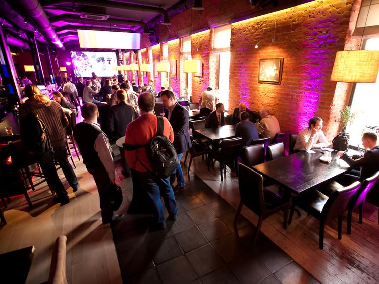 Ресторан, Банкетный зал на 120 персон в ЦАО, м. Полянка, м. Кропоткинская, м. Третьяковская, м. Боровицкая от 3500 руб. на человека