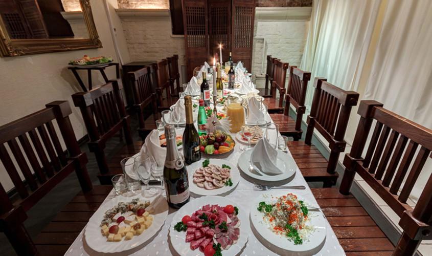 Ресторан на 20 персон в ЦАО, м. Китай-город от 2200 руб. на человека