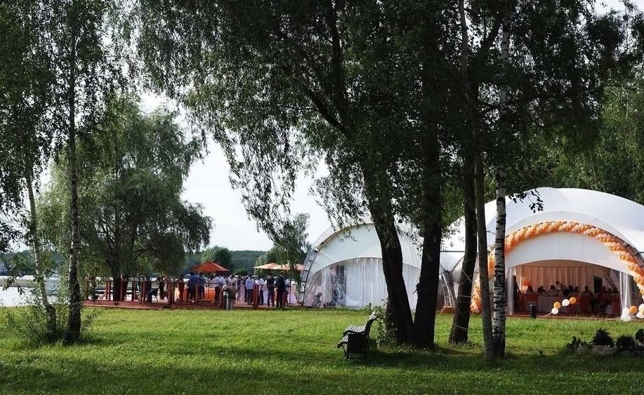 Шатер на 250 персон в СВАО, Троицкий АО,  от 4000 руб. на человека