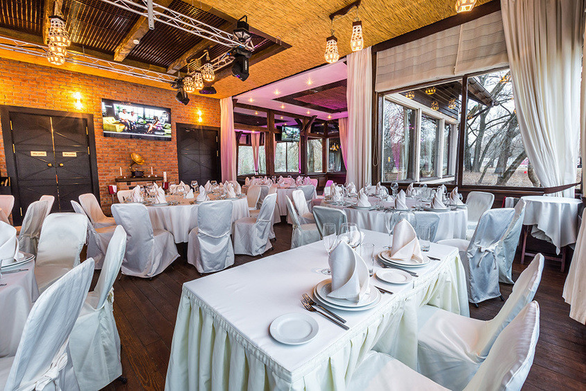 Ресторан, Банкетный зал на 130 персон в СЗАО, м. Полежаевская, м. Строгино от 3500 руб. на человека