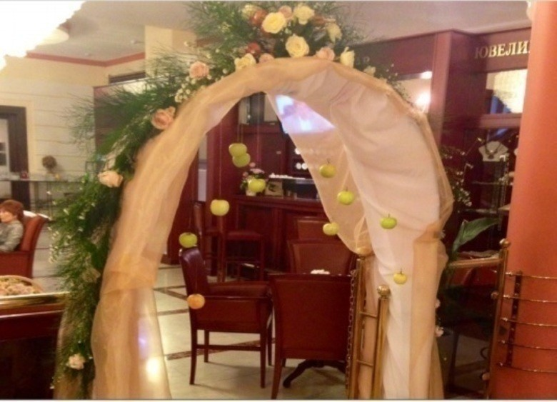 Ресторан, Банкетный зал, При гостинице на 70 персон в ЦАО, м. Смоленская от 2500 руб. на человека