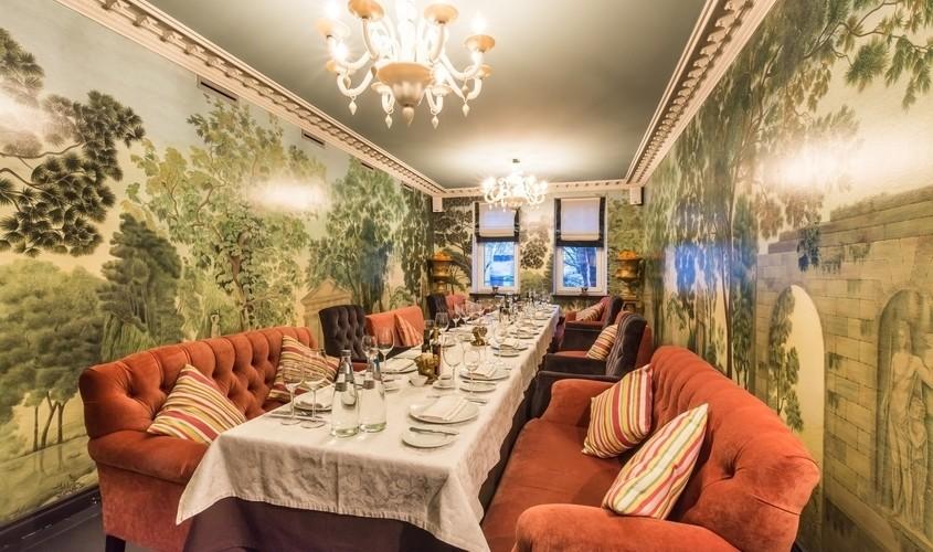 Ресторан, Банкетный зал на 26 персон в ЦАО, м. Парк культуры от 3500 руб. на человека