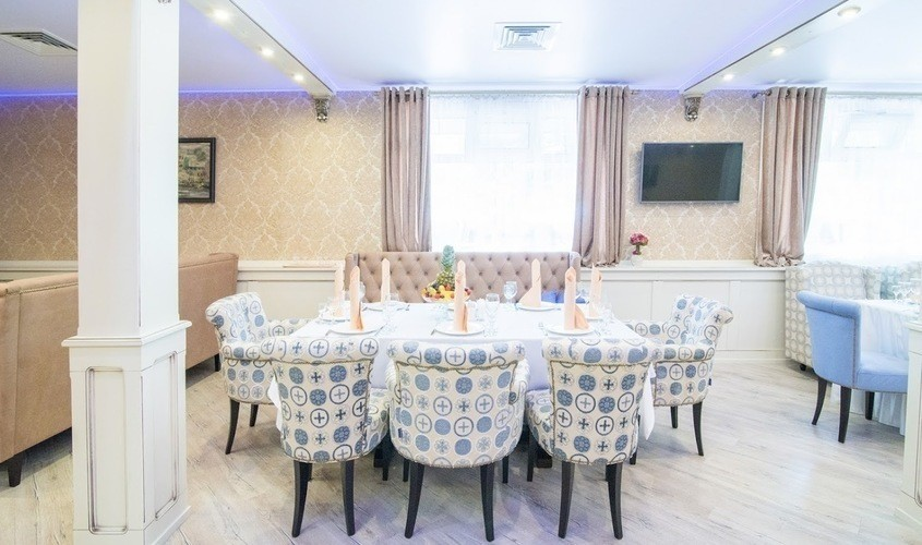 Ресторан, Банкетный зал на 50 персон в ЗАО, м. Славянский бульвар, м. Филевский парк, м. Пионерская от 3000 руб. на человека