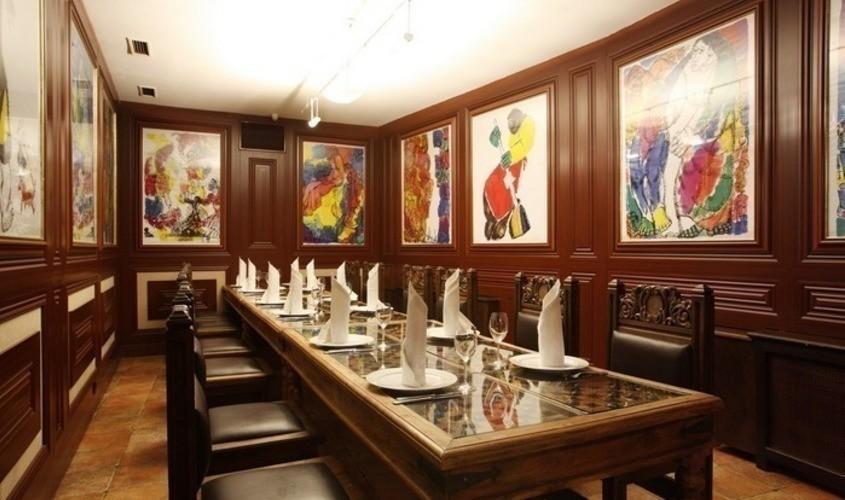 Ресторан на 20 персон в ЦАО, м. Парк Победы, м. Кропоткинская от 4000 руб. на человека