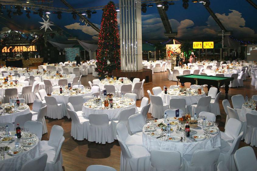 Ресторан, Банкетный зал, При гостинице, За городом на 1200 персон в САО,  от 6000 руб. на человека