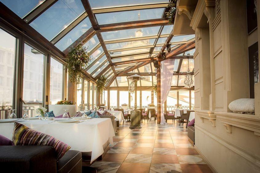 Ресторан, Банкетный зал на 80 персон в ЦАО, м. Смоленская от 8000 руб. на человека