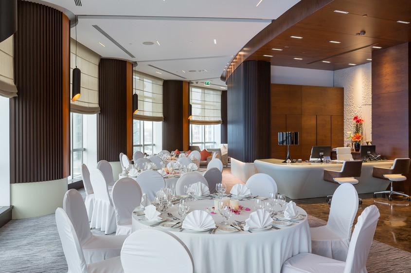 Банкетный зал, При гостинице на 60 персон в ЦАО, м. Павелецкая от 3500 руб. на человека