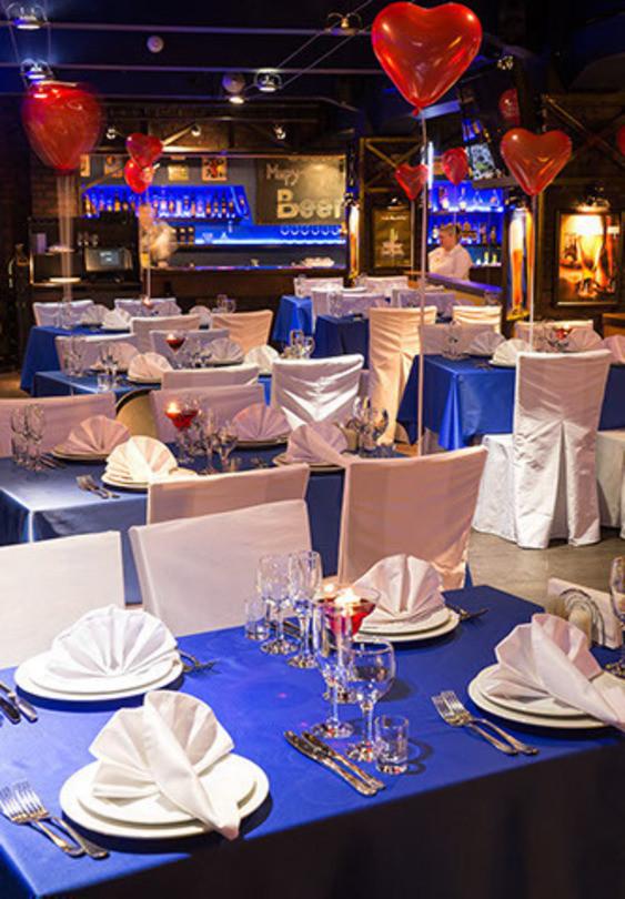 Ресторан на 190 персон в ЦАО, м. Бауманская, м. Комсомольская от 3000 руб. на человека