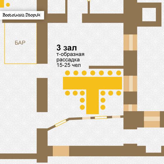 Ресторан, Банкетный зал на 25 персон в ЦАО, м. Комсомольская, м. Красные ворота от 3000 руб. на человека