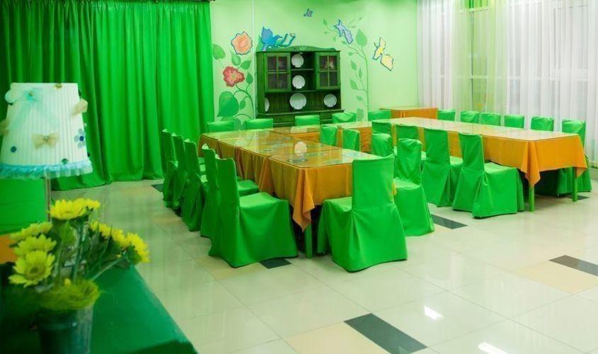 Детское кафе зеленый зал
