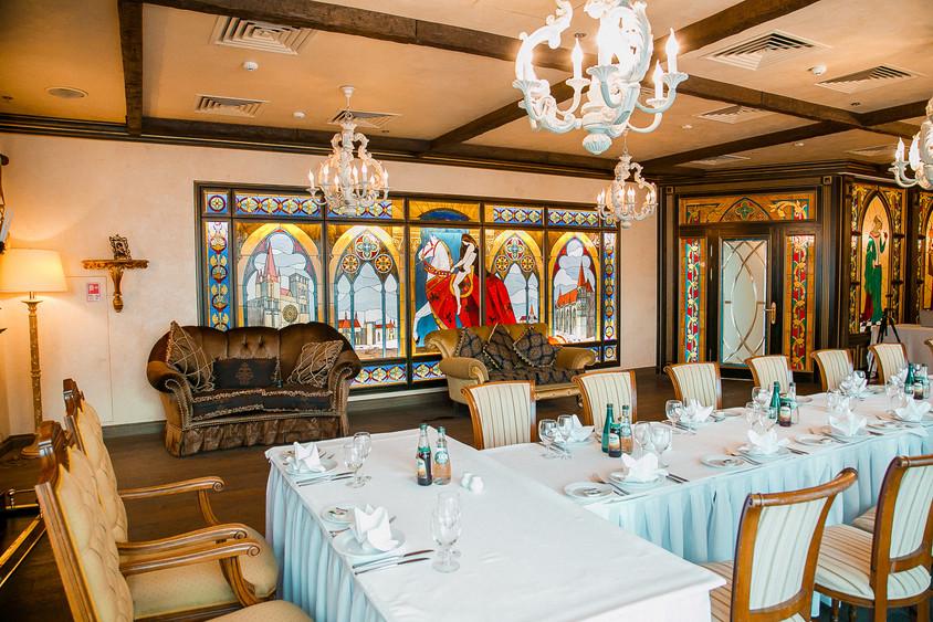 Ресторан, Банкетный зал, При гостинице на 35 персон в ЮАО, м. Домодедовская, м. Орехово от 4000 руб. на человека