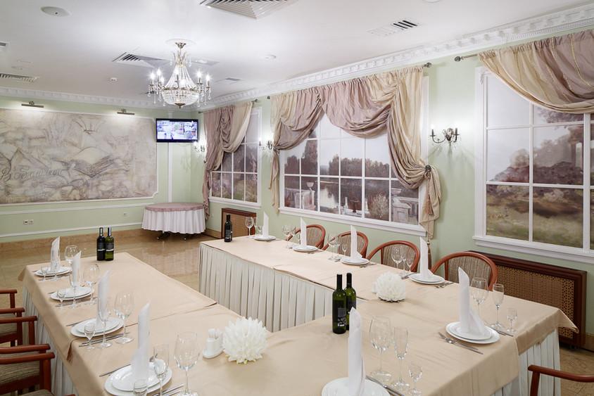 Ресторан, Банкетный зал, При гостинице на 30 персон в ЦАО, м. Пушкинская, м. Тверская, м. Чеховская от 2500 руб. на человека