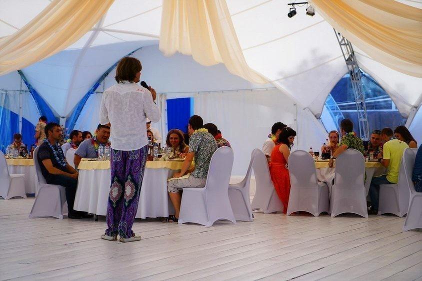 Загородный клуб, Шатер, Яхт-Клуб на 250 персон в САО,  от 3500 руб. на человека