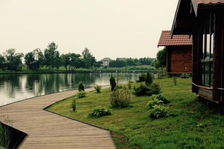 Загородный клуб, У воды на 80 персон в ЮАО,  от 3500 руб. на человека