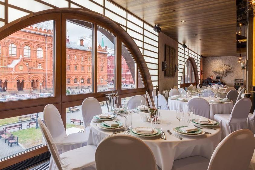 Ресторан, Банкетный зал на 200 персон в ЦАО, м. Охотный ряд, м. Театральная от 4000 руб. на человека