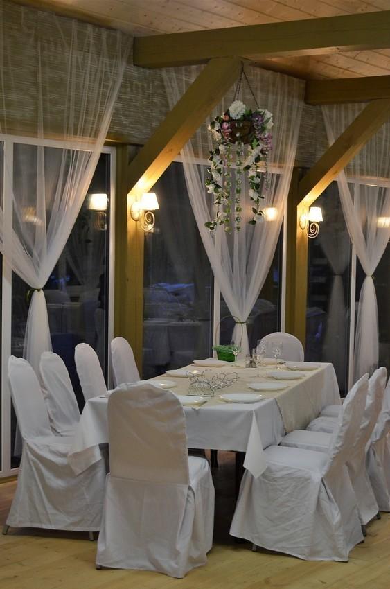 Ресторан, Банкетный зал, За городом, Летняя веранда на 70 персон в СЗАО,  от 1200 руб. на человека