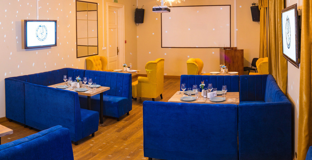 Ресторан, Банкетный зал, Кафе на 50 персон в ЦАО, м. Павелецкая от 2500 руб. на человека