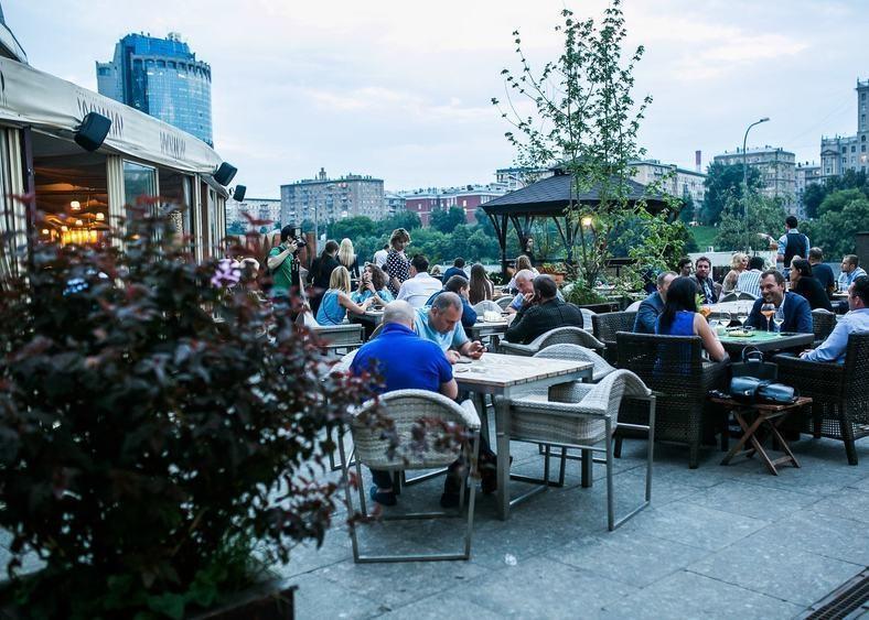 Ресторан, Банкетный зал, Летняя веранда на 200 персон в ЦАО, м. Выставочная, м. Деловой центр, м. Международная от 4000 руб. на человека