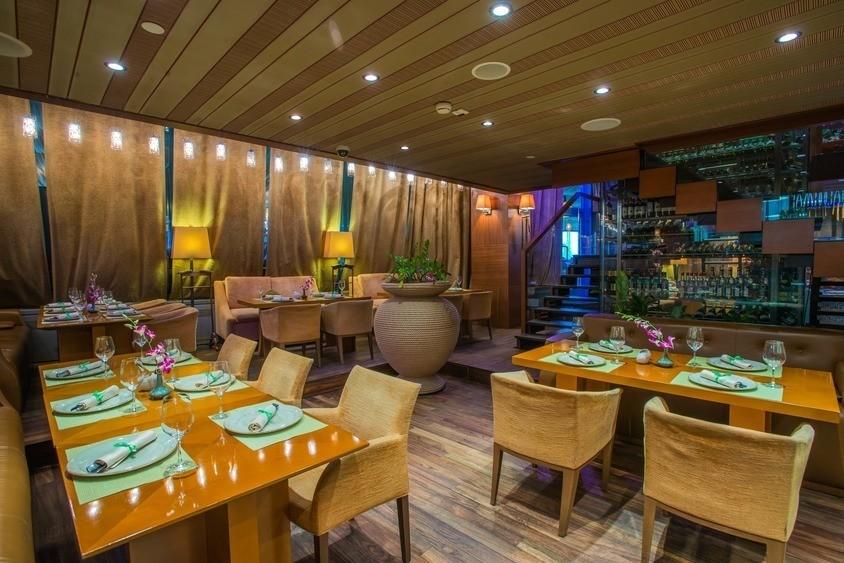 Ресторан, Банкетный зал на 50 персон в ЦАО, м. Выставочная, м. Деловой центр, м. Международная от 4000 руб. на человека