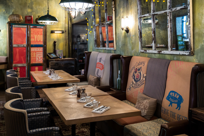 Ресторан на 20 персон в ЦАО, м. Чеховская, м. Пушкинская, м. Тверская от 5000 руб. на человека