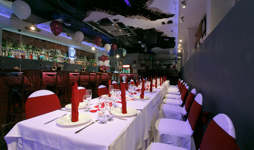 Бар, Ночной клуб на 100 персон в ЦАО, м. Чистые пруды от 2500 руб. на человека