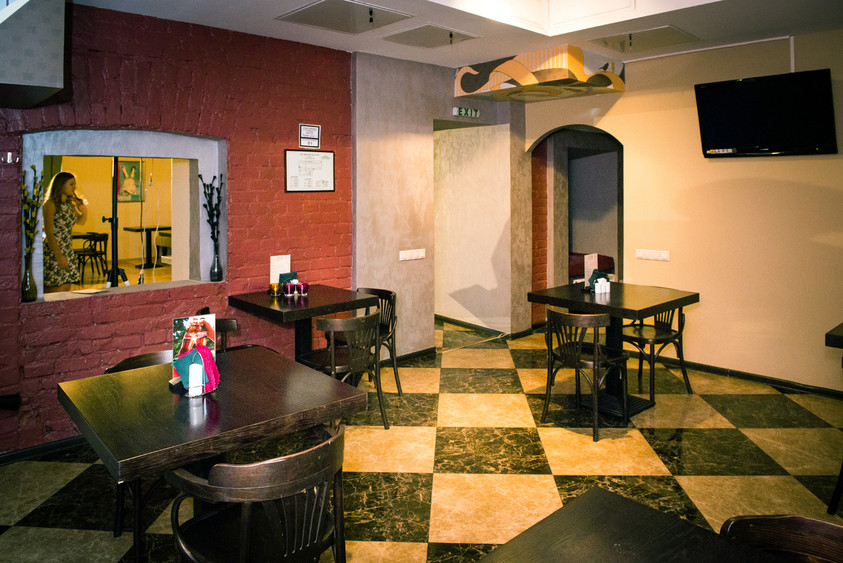 Кафе на 12 персон в ЦАО, м. Красные ворота, м. Курская от 2500 руб. на человека