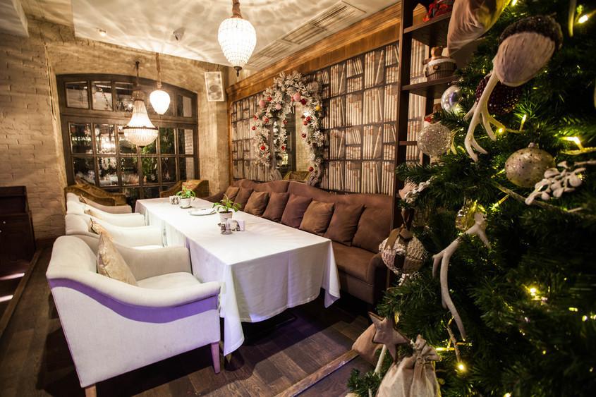 Ресторан на 120 персон в ЦАО, м. Полянка, м. Кропоткинская от 3500 руб. на человека
