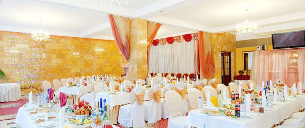 Банкетный зал, При гостинице на 150 персон в ЮЗАО, м. Тропарево, м. Коньково от 2000 руб. на человека