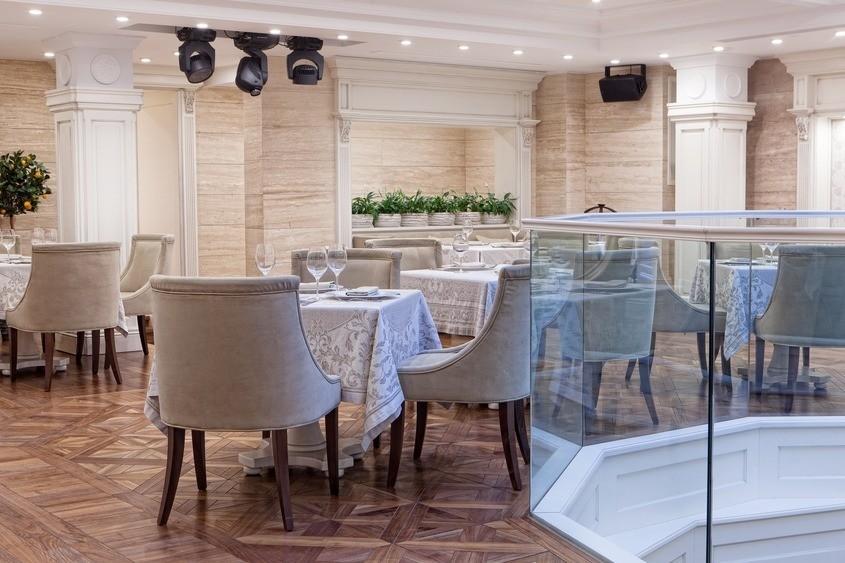 Ресторан, Банкетный зал на 60 персон в ЦАО, м. Тверская, м. Пушкинская, м. Чеховская от 5000 руб. на человека