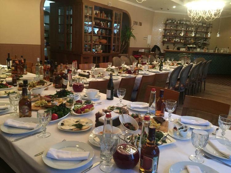 Ресторан, Банкетный зал на 80 персон в ЦАО, м. Кузнецкий мост от 1500 руб. на человека
