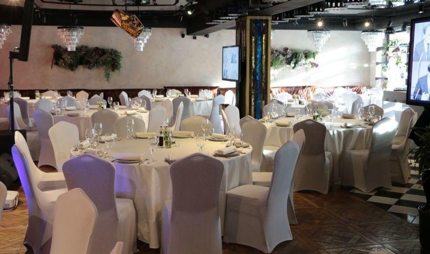 Ресторан, Банкетный зал на 100 персон в ЗАО, м. Ломоносовский проспект от 2500 руб. на человека