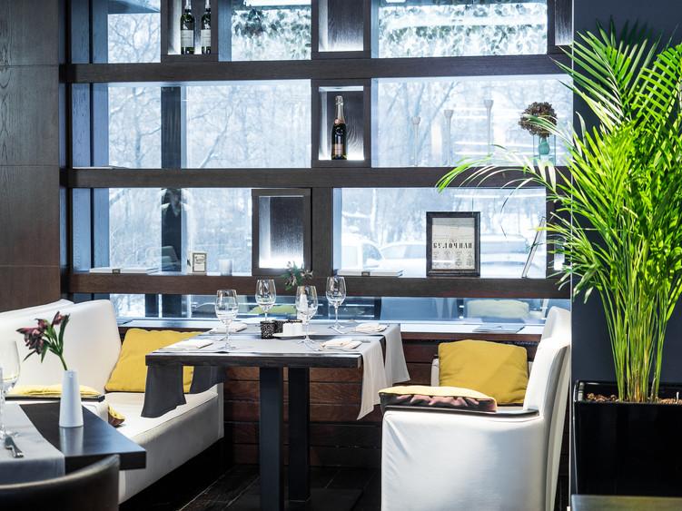 Ресторан, Банкетный зал на 60 персон в ЗАО, м. Парк Победы, м. Кутузовская от 5000 руб. на человека