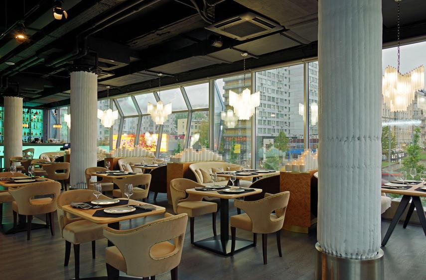 Ресторан на 60 персон в ЦАО, м. Смоленская, м. Арбатская от 5000 руб. на человека