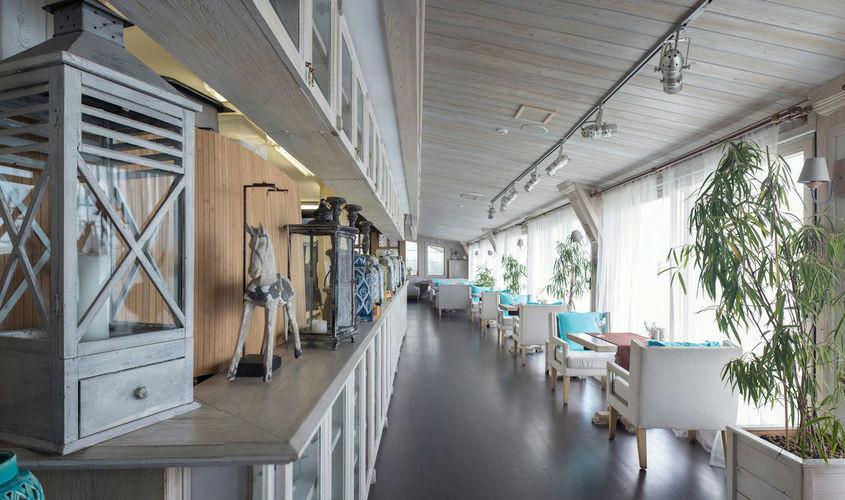 Ресторан, Банкетный зал, У воды на 90 персон в ЮВАО, м. Печатники от 3500 руб. на человека