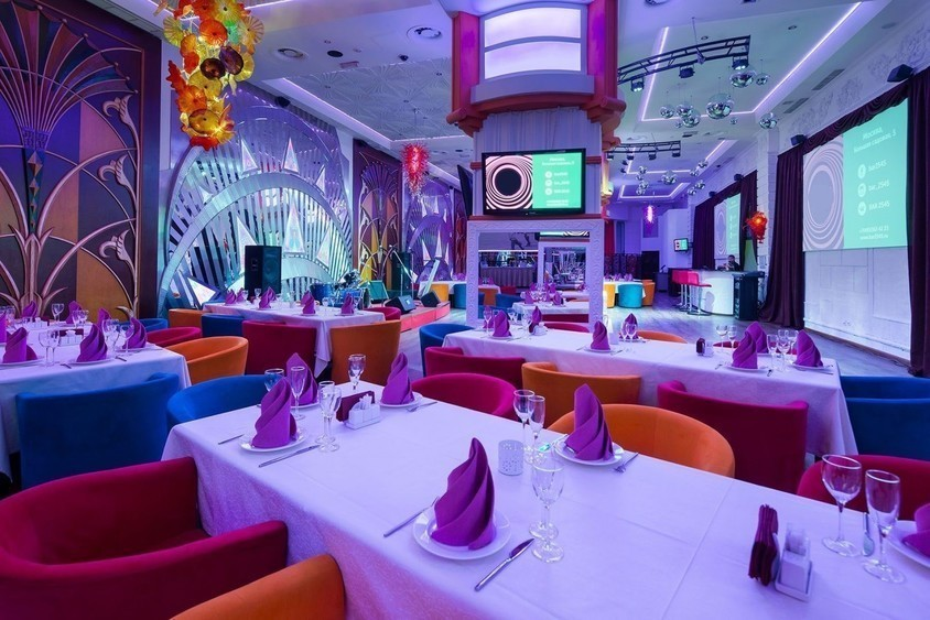 Ресторан, Банкетный зал на 180 персон в ЦАО, м. Маяковская, м. Пушкинская, м. Тверская от 2500 руб. на человека