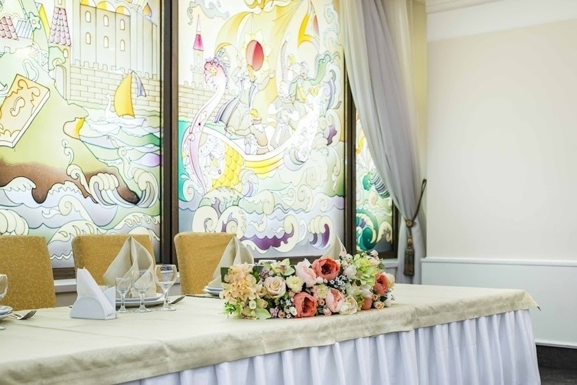 Ресторан, Банкетный зал, При гостинице на 50 персон в ЮЗАО, м. Юго-Западная, м. Тропарево от 2500 руб. на человека